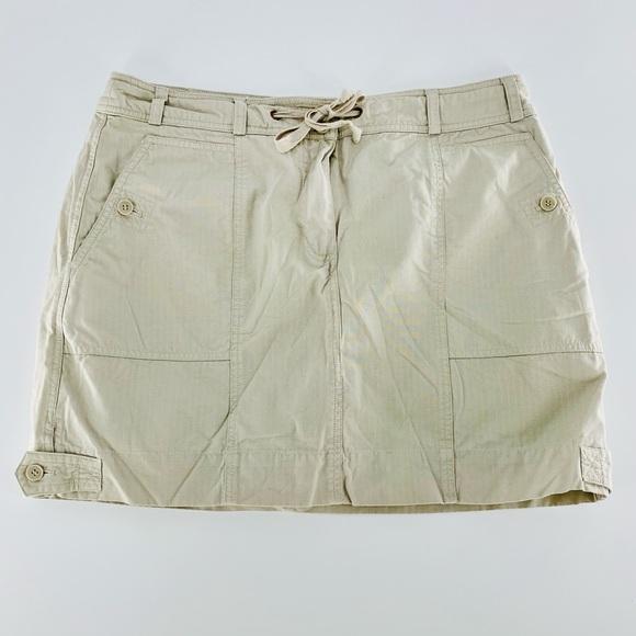 JONES NEW YORK Khaki Skirt AU-B01